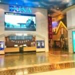 Interior of the cinema